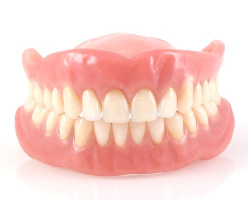 Dull dentures